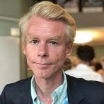 porträtt på ordföranden i Rinkeby-Kista stadsdelsnämnd Ole-Jörgen Persson.