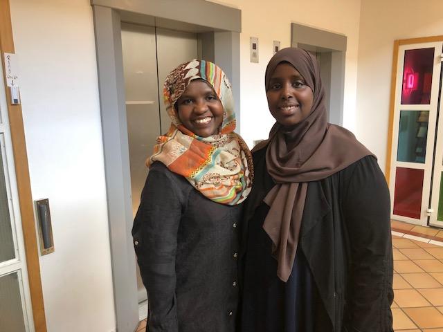 Iman Elmi och Jamad Abdi-aziz röstar båda två i EU-valet.
