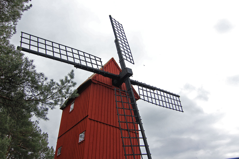 Rinkeby kvarn Stora Stampan