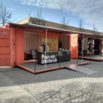 Mobil återvinningsstation på Kista torg
