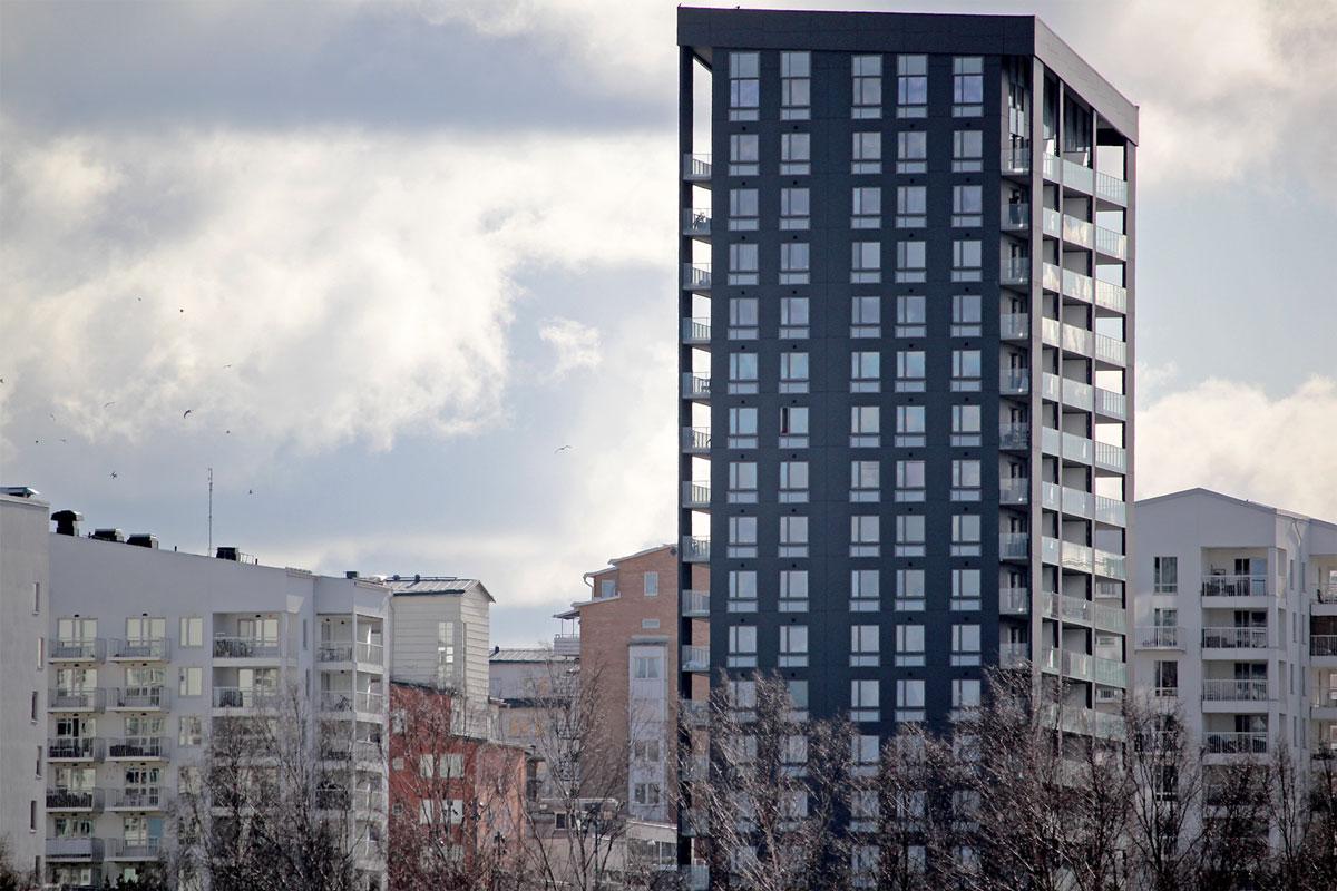 Höghuset på Rinkebyterassen