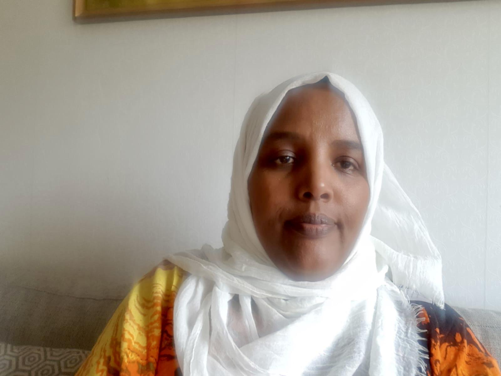 Porträtt på Fatuma Abdullahi Mohamed