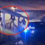 stillbild från film av polisingripande