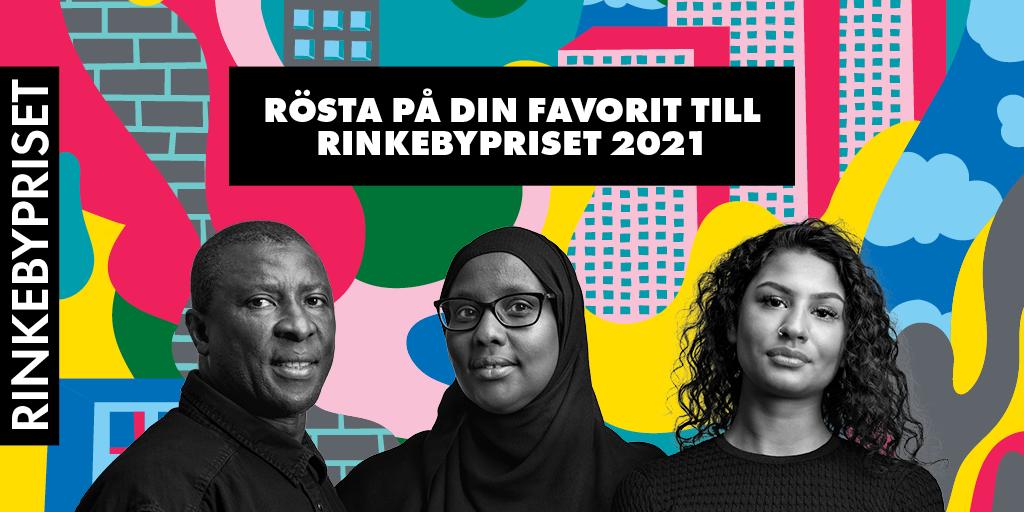De nominerade till Rinkebypriset