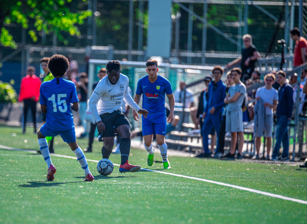 bild från fotbollsmatch