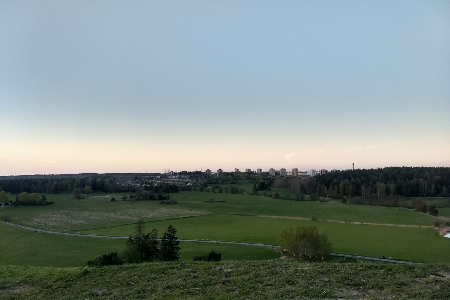 utsikt från granholmstoppen