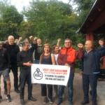 Husby arbetarcentrum grillar i solidaritet med Zalando-arbetarna
