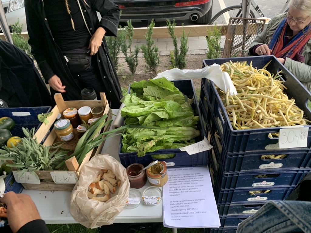 grönsaksförsäljning