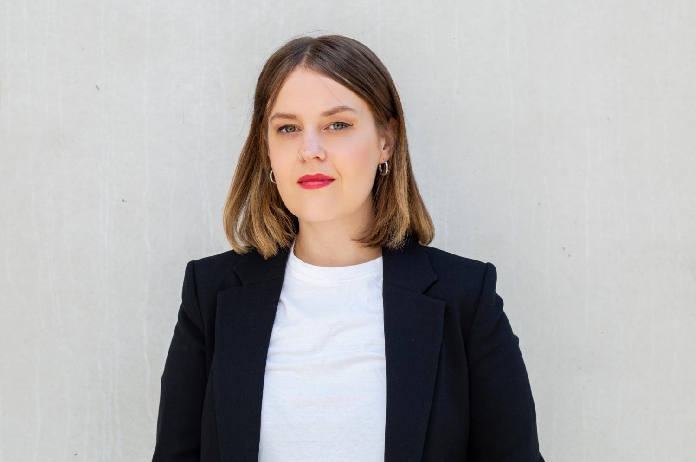 Porträtt på Lisa Palm