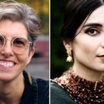 två porträttbilder av författarna