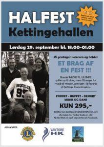 Halfest Kettingehallen 29/9-2018