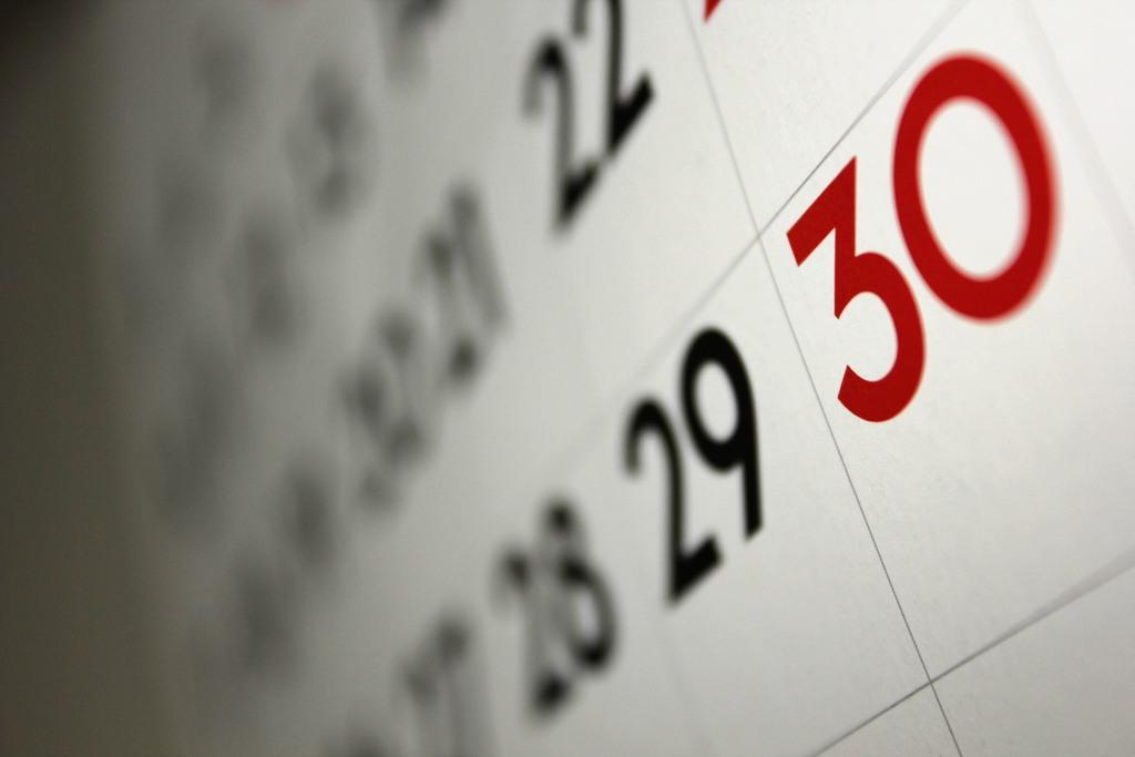 Opret begivenheder i Nysted kalenderen