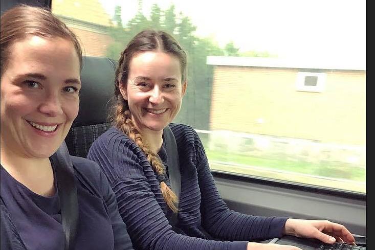 Tidligere sundhedsminister Astrid Krag på besøg i Nysted