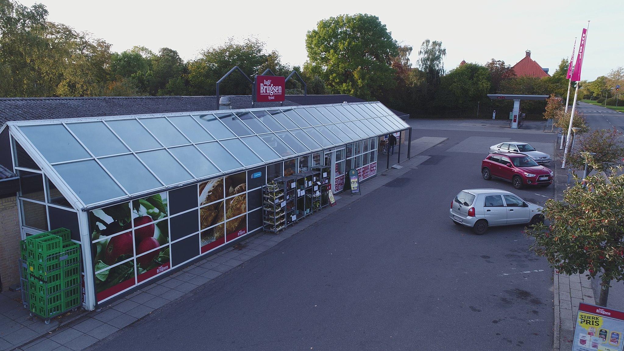 Indbrud i Brugsen i Nysted