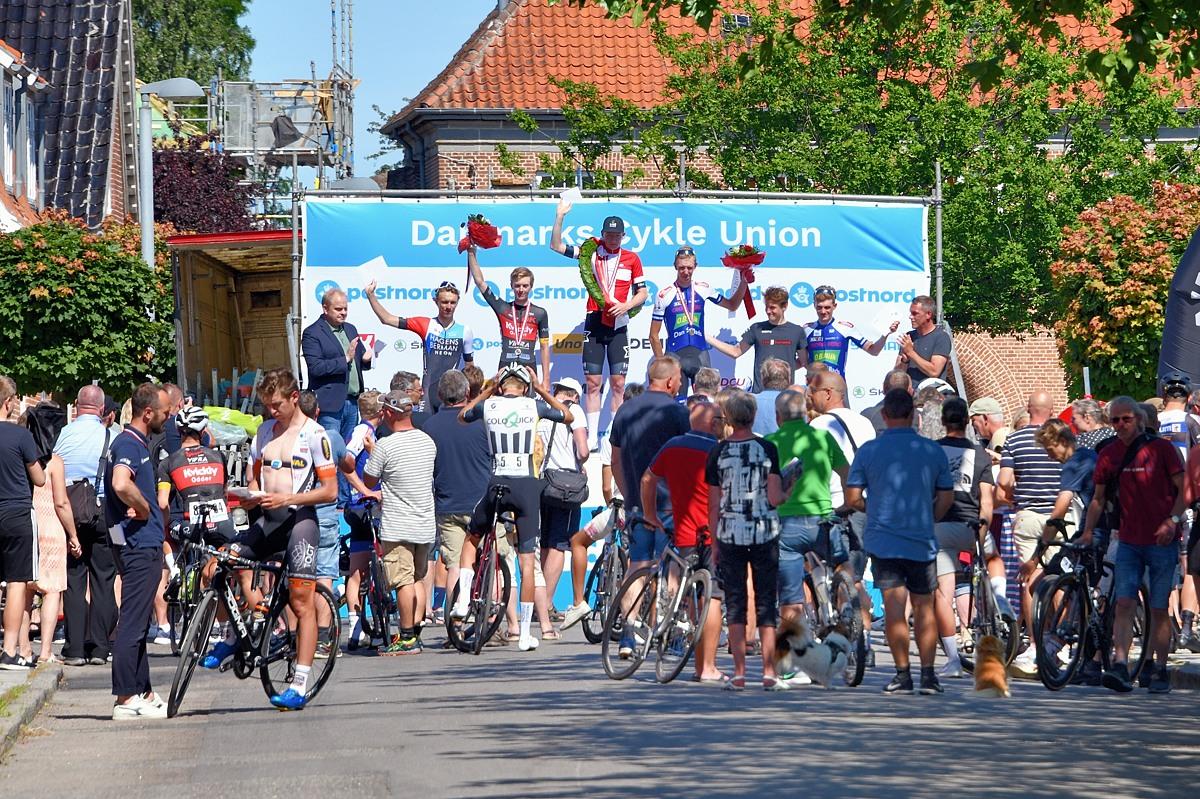 Få tilskuere til U23 cykelløb i Nysted