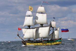 25 meter russisk sejlskib til Nysted