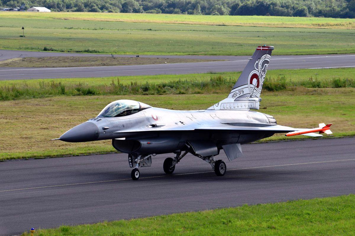 Klage over overflyvning omkring Nysted med jagerfly den 22. juli.