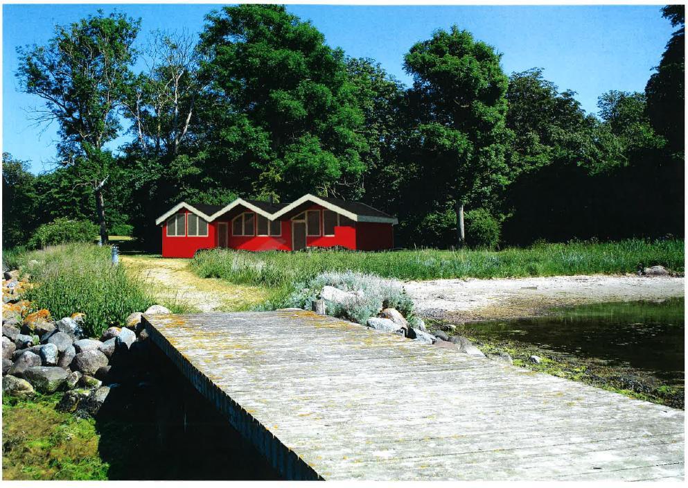 Endegyldig tilladelse til etableringen af Nysted Sauna-  og Havbad
