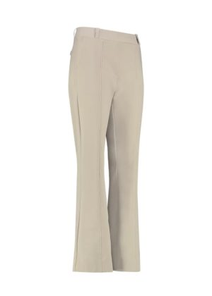 Studio Anneloes - Flair bonded stitch trousers - 02309-6900 - Zand - voorkant