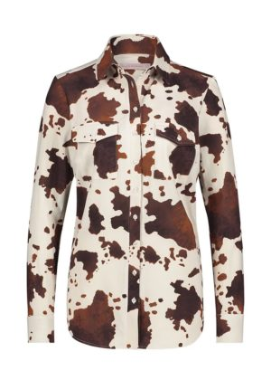 Studio Anneloes Poppy cow blouse art.nr 04218 - Voorkant