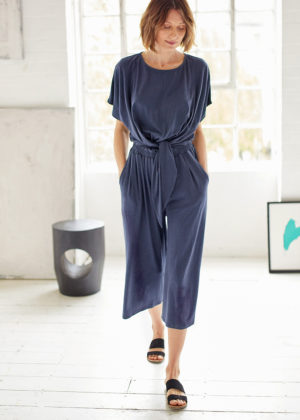 Thought Elizabeth jumpsuit dark navy WSD4593
