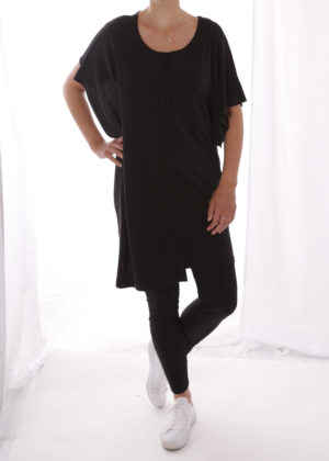 Elsewhere 3234 tuniek zwart black voorkant