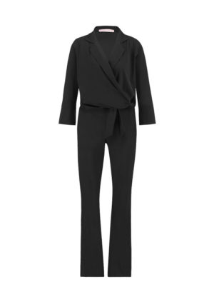 Angelou flair jumpsuit Studio Anneloes black travelkwaliteit