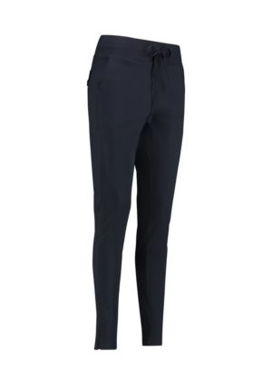 Studio Anneloes downstairs trousers 91570 6900 040 dark blue black travelkwaliteit