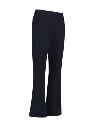 Flair bonded trousers dark blue Studio Anneloes travelkwaliteit