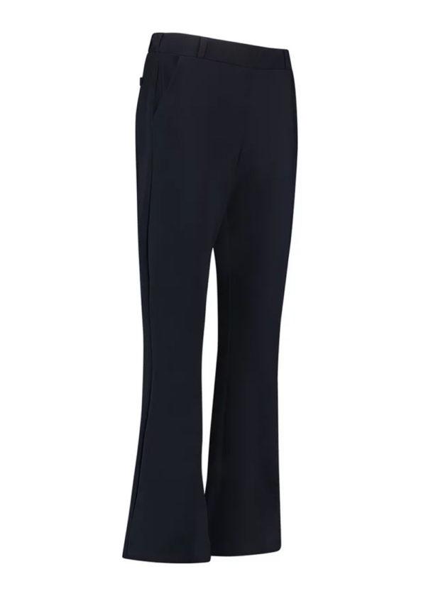 Studio Anneloes Flair bonded trousers dark blue donker blauw packshot