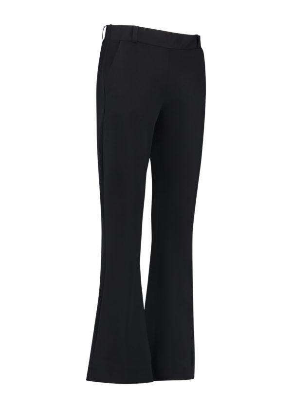Studio Anneloes Flair bonded trousers black zwart packshot