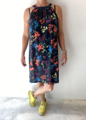 RBLZ reb-15173 jurk zomerjurk blauw