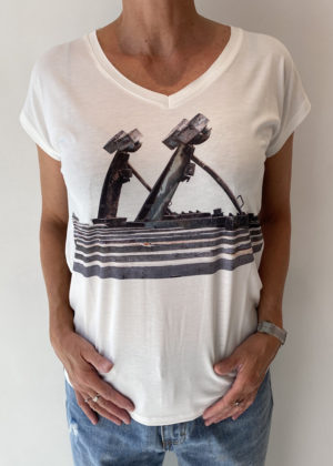 Camaret Sur Mer shirt dividere wit shirt voor