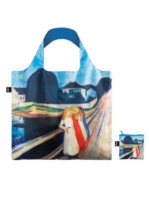 Edvard Munch four girls on the bridge loqi bag tas
