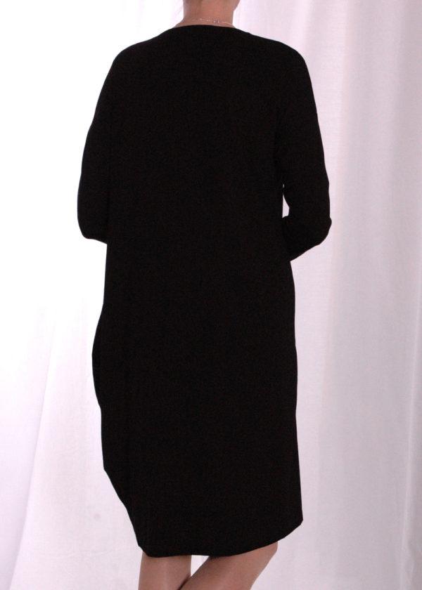 Elsewhere 3357 Tunic jersey black achterkant