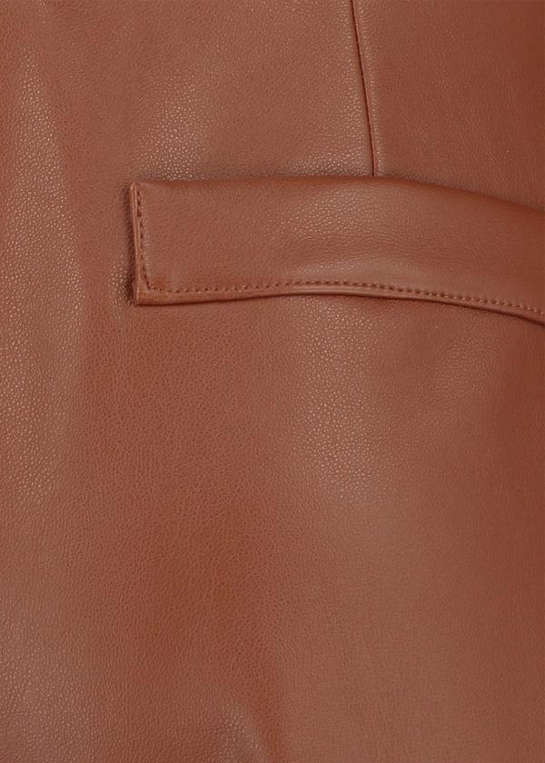 Studio Anneloes 05021-8500 florien faux leather culotte closeup