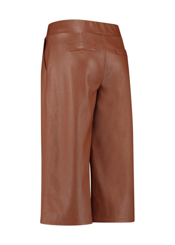 Studio Anneloes 05021-8500 florien faux leather culotte packshot achterant