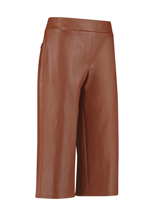 Studio Anneloes 05021-8500 florien faux leather culotte packshot voorkant