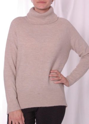 Emotions 241132 oversized turtle neck ALmond