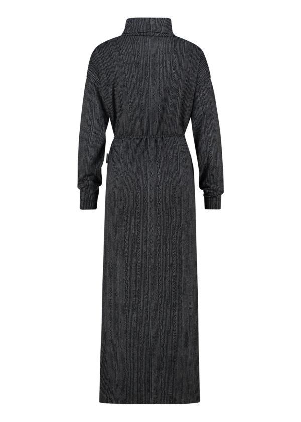 Penn & Ink N.Y. W20F838B dress jurk black achterkant