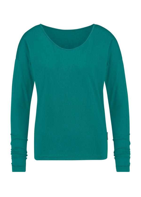 W20F843 PENN & iNK N.y. longsleeve t-shirt emerald