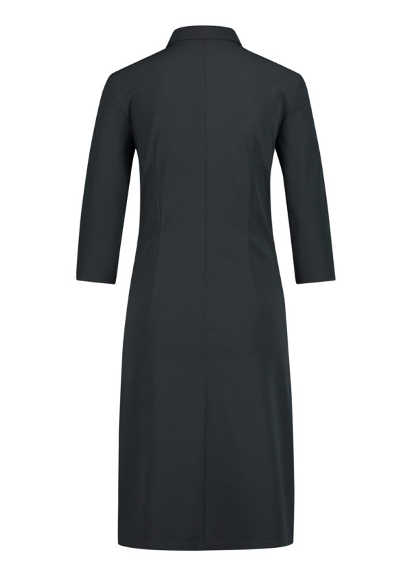 Penn & Ink N.Y. W20N842 dress antra jurk grijs achterkant