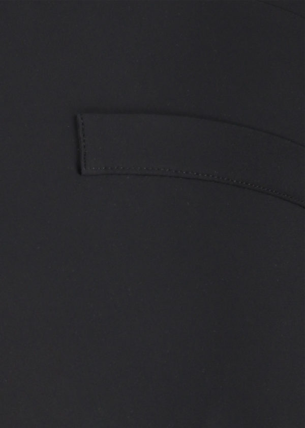 Studio Anneloes Black anne trousers broek 04963-9000 fake paspelzak