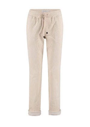 Red Button SRB2769 voorkant offwhite Tessy cord trousers