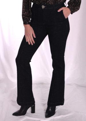 I-coni-K Birgit dark flair jeans voorkant