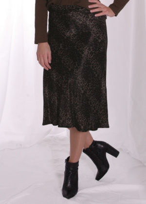 Smith & Soul Leo shiny skirt 0920-0960