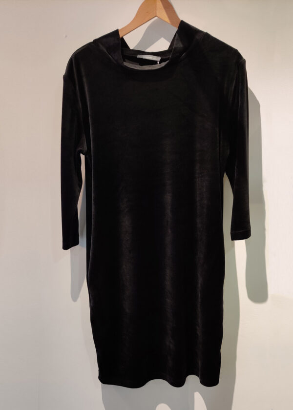 Emotions 241095 Dress velvet zwart