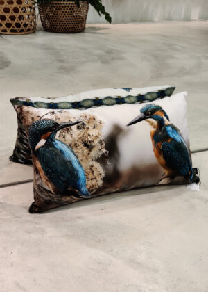 Dividere Home kussen kingfishers dubbel 35x58