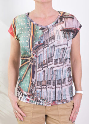 Dividere Bayonne T-shirt front