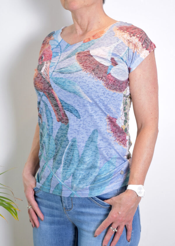 Dividere Dividere Delft T-shirt side